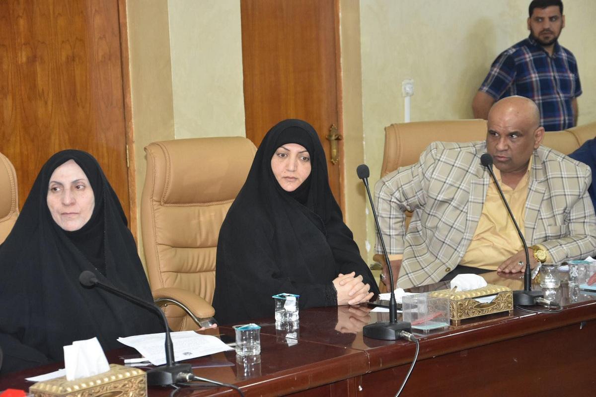 مجلس المحافظة يعقد جلسته الدورية ويناقش عدد من القضايا المهمة