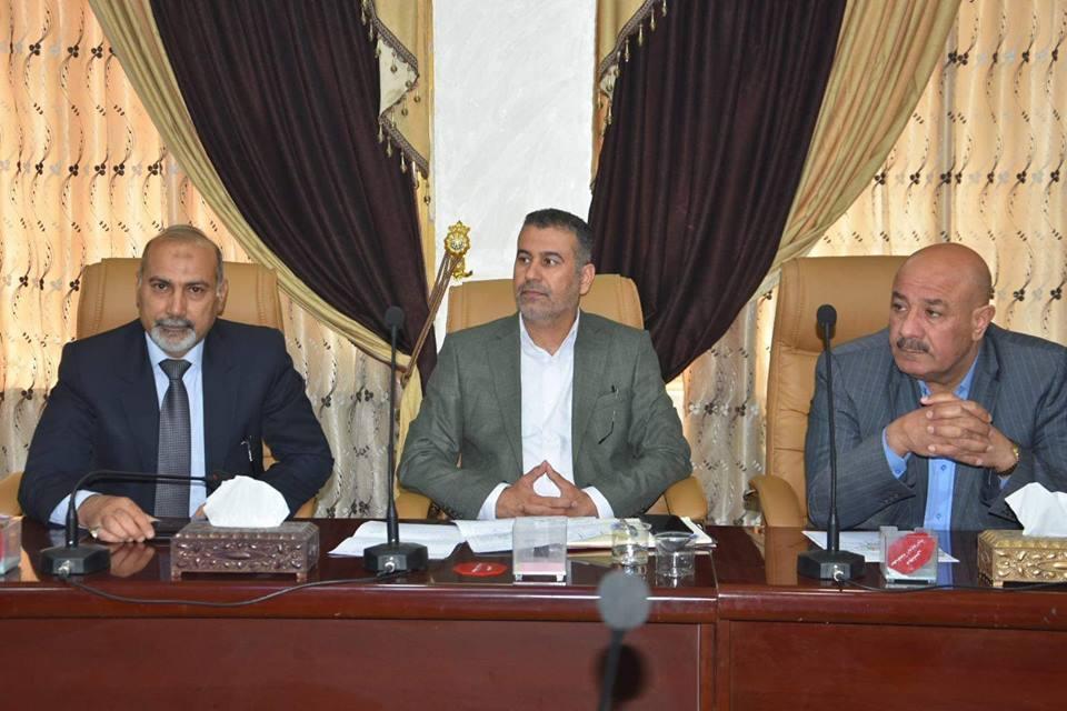 مجلس المحافظة يعقد جلسته الدورية ويناقش الواقع الخدمي في المحافظة