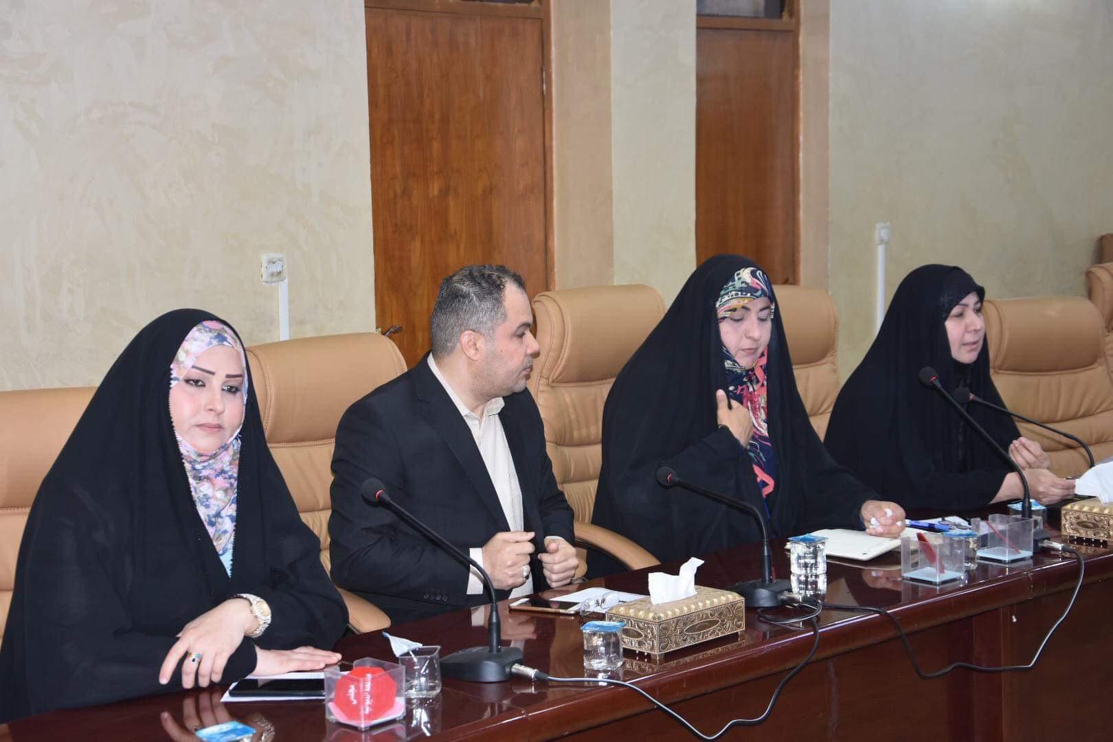 مجلس المحافظة يعقد اجتماعه الدوري ويناقش عدد من القضايا