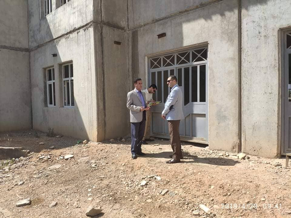 قسم المشاركة الجماهيرية يعقد اجتماع جماهيري مع اهالي حي الجزائر